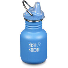 Klean Kanteen Classic Bottle 355ml with New Sippy Cap Kids pool party (matt)